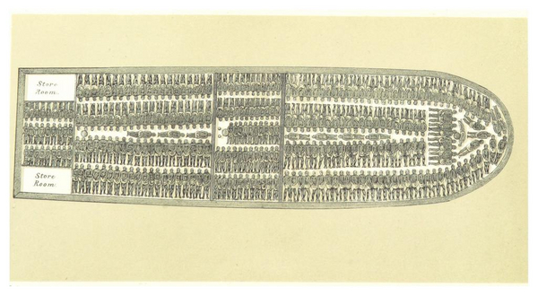 FOOT 1854  p038 A SLAVE SHIP