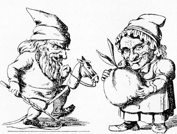 Nissemand og Nissekone 18581