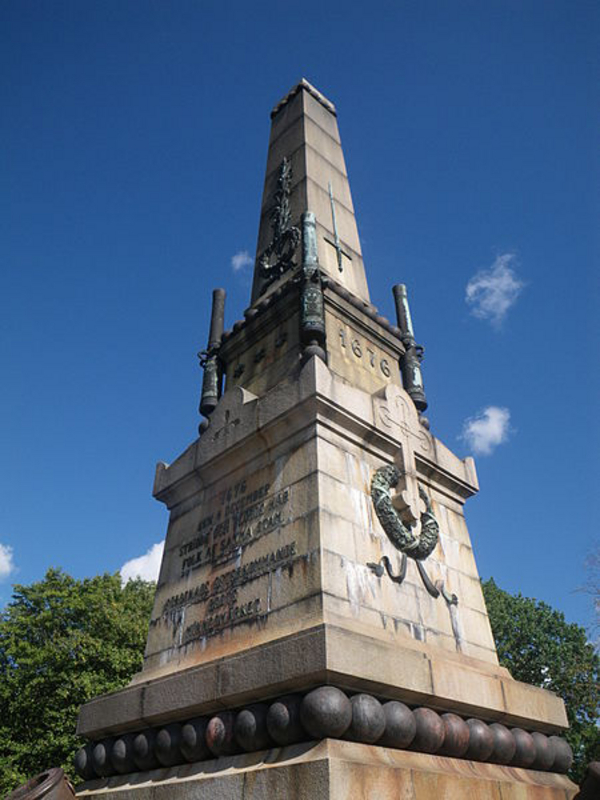 The Memorial of the Battle at Lund  Close up from south west  Lakey  2012  Wikimedia Commons