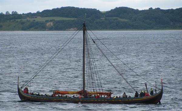 Vikingetiden  Introduktionstekst  skib  havhingsten  wiki