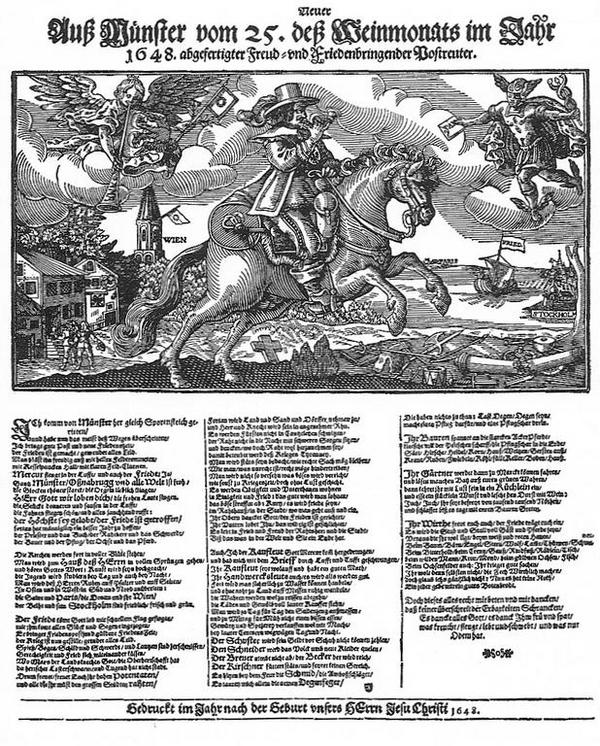 Flugblatt 1648