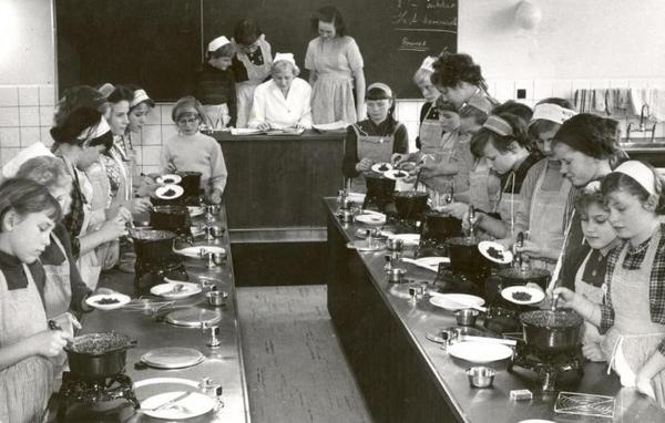 Skolekoekken 1957
