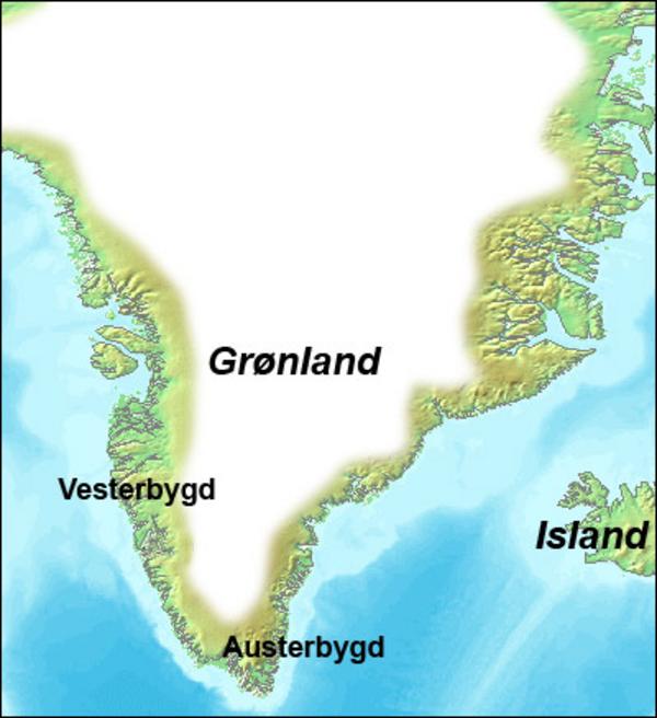 Eirik Raudes Groenland  Wikimedia