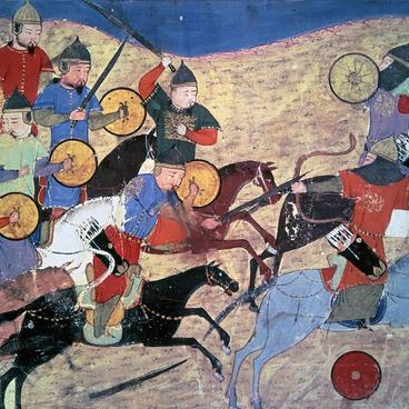 Djengis Khan og mongolerne