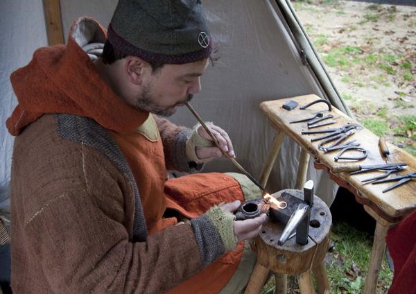 barndom  Vikingeplads 39  haandvaerker  sagnlandet lejre