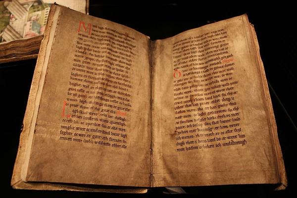 Codex Holmiensis or Jyske Lov  wikimedia