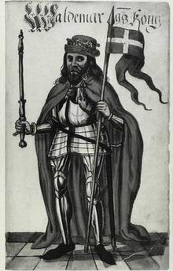 Valdemar 2  Sejr  Det Kongelige Bibliotek Portraetsamlingen