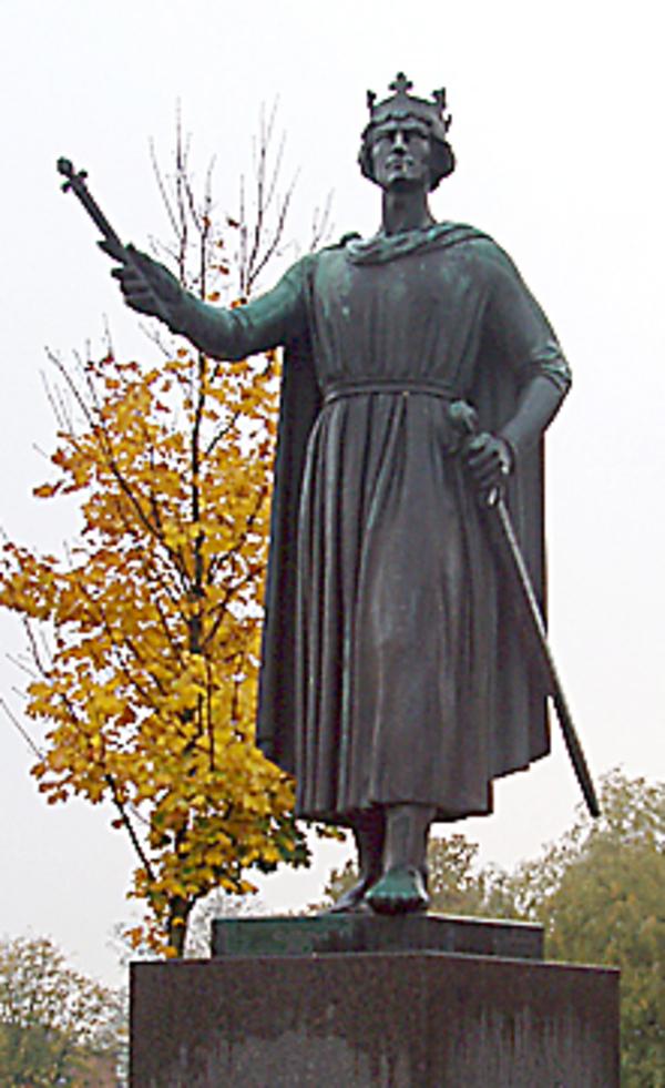 Valdemar den Store ny stine