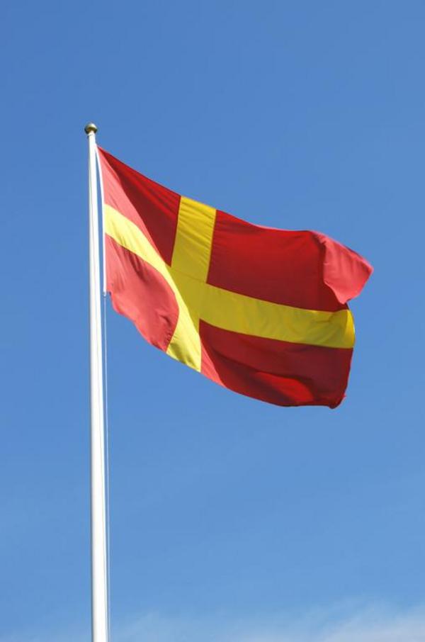 Skaanske flag  iStock 09  Lisa Denise Hillstroem