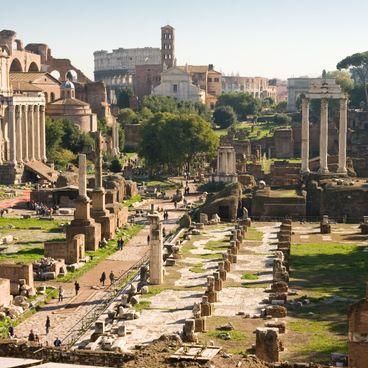 Romerrigets storhed og fald