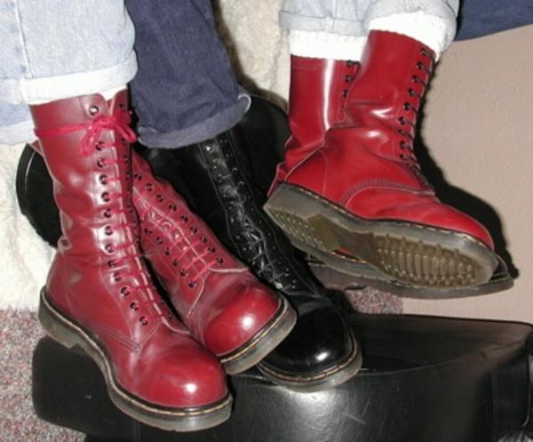 mode  vidensalder  Dr martens boots  wiki