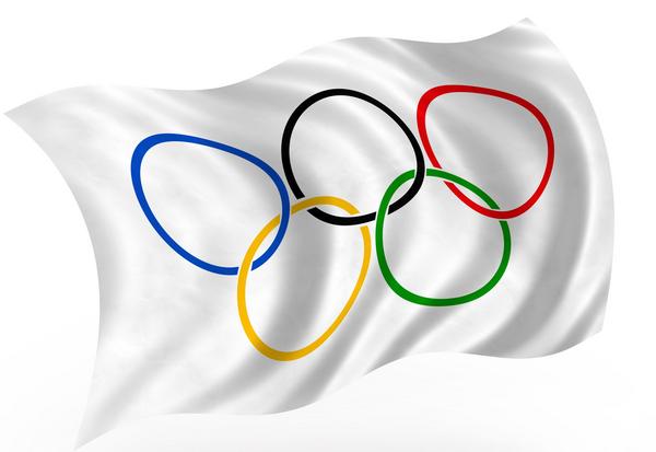 olympisk flag  COLOURBOX1527164