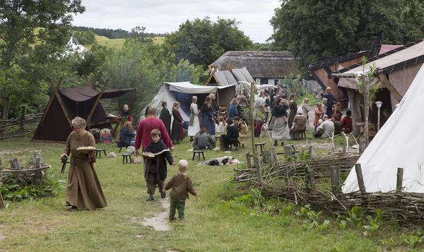 Boplads  hverdag og arbejde  Ravnebjerg 2013 25  sagnlandet lejre
